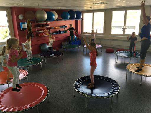 """Kurs """"Kids on Trampolin"""" (Herbst 2019)"""