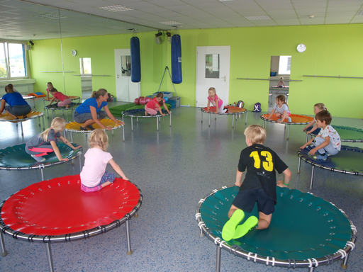 "Kurs ""Kids on Trampolin"" (Herbst 2019)"