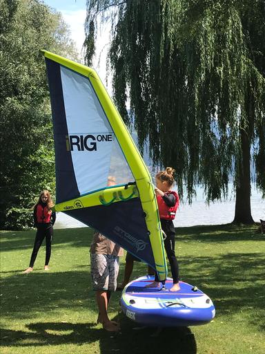 """Kurs """"Windsurfen"""" (Sommer 2019)"""